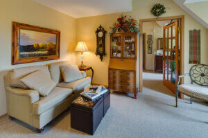Assisted living one-bedroom apartment